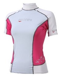 Mares Trilastic Rashguard: Ladies ON SALE