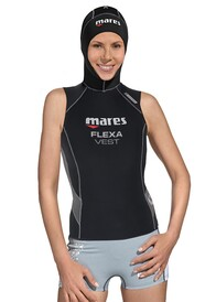 Mares Flexa Hooded Vest: Womens